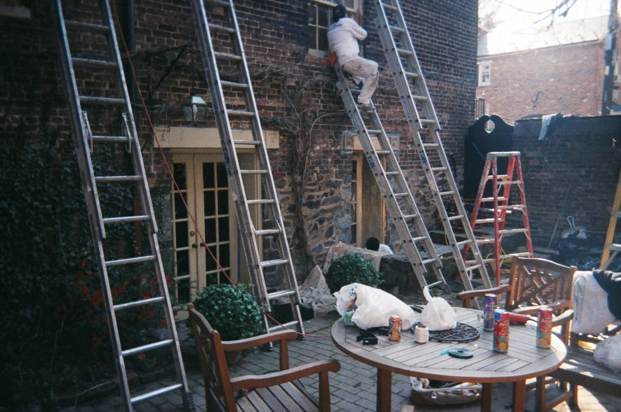 Preservation of Brick Townhouse