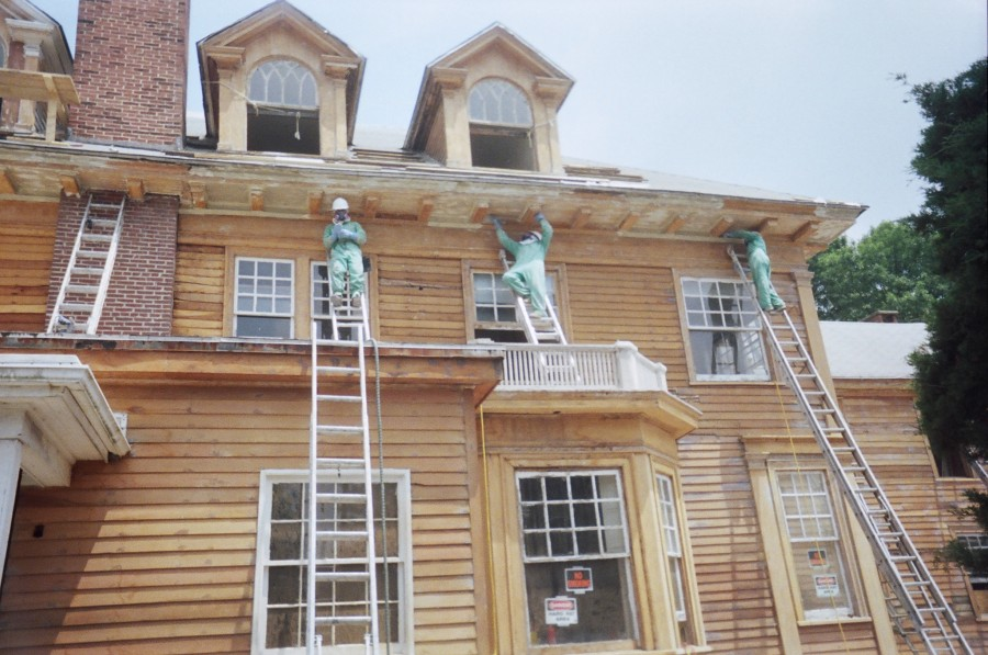 Paint Removal of Queen Anne Style Residence