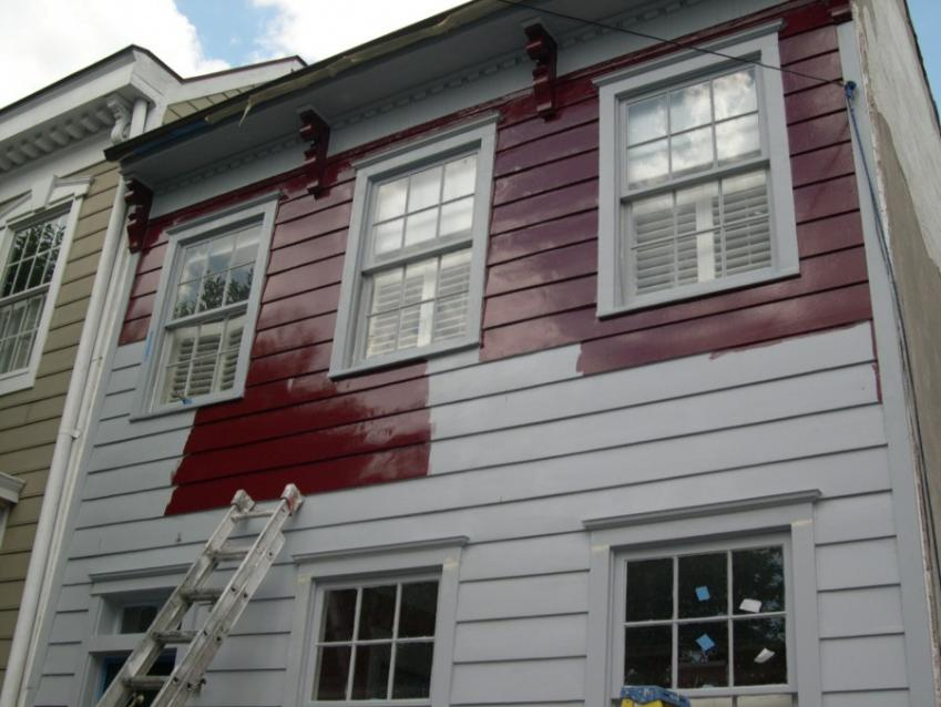 Exterior Restoration of Historic Eighteenth Century Stucco and Wood ...