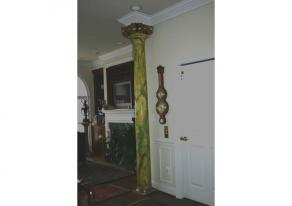 Marbling of Interior Column