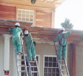 Painting Surface Preparation: Stripping the Woodwork