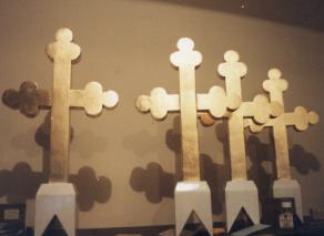 Gilding of Crosses